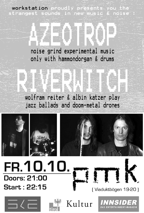 Azeotrop & Riverwitch Flyer
